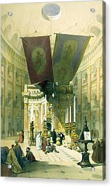 Shrine Of The Holy Sepulchre April 10th 1839 Acrylic Print