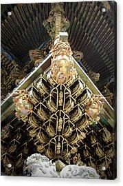 Shrine Roof Detail Acrylic Print
