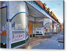 Shuttered Food Store Acrylic Print by Steven Ainsworth