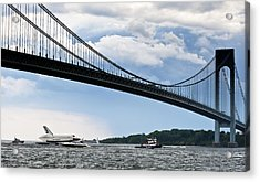 Shuttle Enterprise Acrylic Print by Roni Chastain