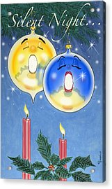 Si O Lent Night Acrylic Print by Richard De Wolfe