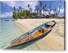 Sibuan Island Acrylic Print by Photography By Spintheday