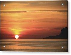 Sicilian Sunrise Acrylic Print