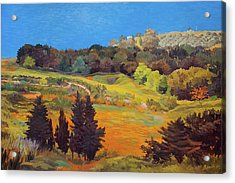 Sicily Landscape Acrylic Print