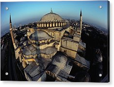 Side Domes And Minarets Gather Acrylic Print by James L. Stanfield