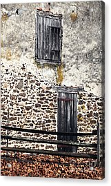 Side Entrance Acrylic Print by John Rizzuto