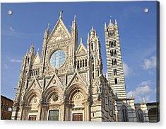 Siena Cathedral - Duomo Santa Maria Assunta Acrylic Print by Matthias Hauser