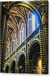 Siena Italy - Siena Catheral Acrylic Print by Gregory Dyer