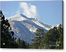 Sierra Blanca Clouds 3 Acrylic Print