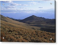 Sierra Escarpment From Whites Acrylic Print