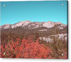 Sierra Nevada Mountain Acrylic Print