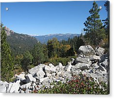 Sierra Nevada Mountains 1 Acrylic Print