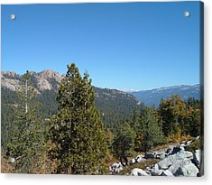 Sierra Nevada Mountains 2 Acrylic Print
