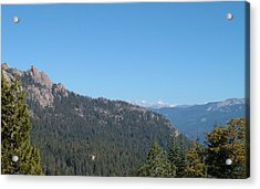 Sierra Nevada Mountains 3 Acrylic Print