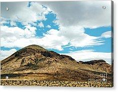 Sierra Nevadas Acrylic Print by HD Connelly
