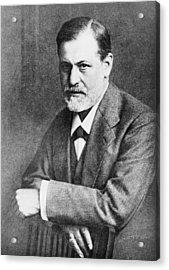 Sigmund Freud 1856-1939, At Age 45 Acrylic Print by Everett