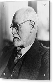 Sigmund Freud 1856-1939, In The 1930s Acrylic Print by Everett