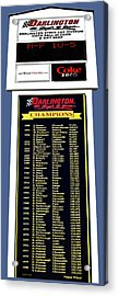 Sign Of Champions Acrylic Print by DigiArt Diaries by Vicky B Fuller