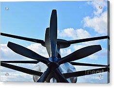 Sikorsky X2 Demonstrator Model Acrylic Print by Lynda Dawson-Youngclaus