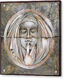 Silence Acrylic Print by Mary Jane Miller
