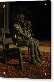 Silent Children Acrylic Print by Guy Ricketts