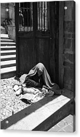 Acrylic Print featuring the photograph Silent Desperation by Lynn Palmer