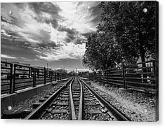 Silent Spur Acrylic Print by Tom Gort