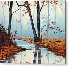 Silent Woods Acrylic Print by Graham Gercken