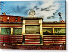 Silk City Lounge Acrylic Print by Bill Cannon
