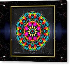 Silk Metal Acrylic Print by Thomas Hemenway