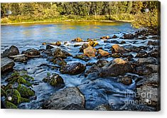 Silk Water Acrylic Print by Robert Bales