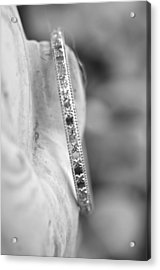 Silver Bangle Acrylic Print by Puzzles Shum