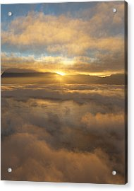Silver Lake Sunrise Acrylic Print