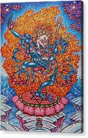 Simkhamukha The Dakini Acrylic Print