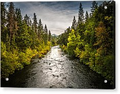 Acrylic Print featuring the photograph Simms Road by Randy Wood