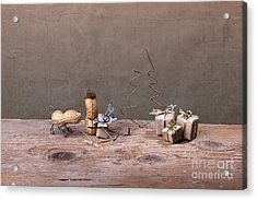 Simple Things - Christmas 06 Acrylic Print by Nailia Schwarz