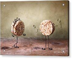 Simple Things 08 Acrylic Print by Nailia Schwarz