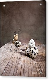 Simple Things Easter 01 Acrylic Print by Nailia Schwarz