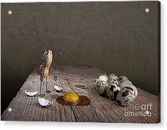 Simple Things Easter 05 Acrylic Print by Nailia Schwarz