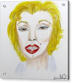 Simply Marilyn Acrylic Print
