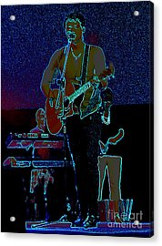 Singing From The Soul Acrylic Print by Renee Trenholm