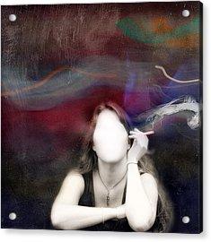Sinking Acrylic Print by Mostafa Moftah
