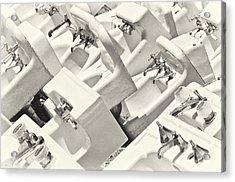 Sinking Acrylic Print by Patrick M Lynch