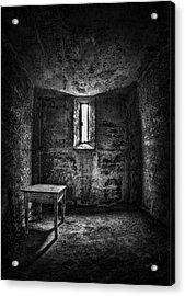 Sinner's Tale Acrylic Print by Evelina Kremsdorf