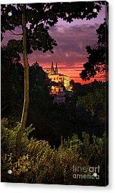 Sintra Palace Acrylic Print by Carlos Caetano