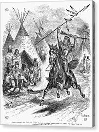 Sioux War, 1876 Acrylic Print by Granger