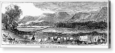 Sioux War: Tongue River Acrylic Print by Granger