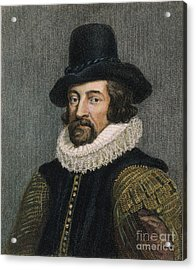 Sir Francis Bacon (1561-1626) Acrylic Print by Granger
