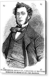 Sir Francis L. Mcclintock Acrylic Print by Granger