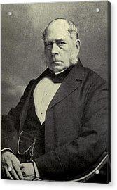 Sir Henry Bessemer 1813-1898, A British Acrylic Print by Everett